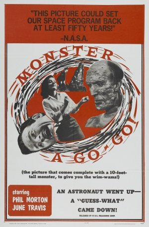 Monster a - Go Go poster