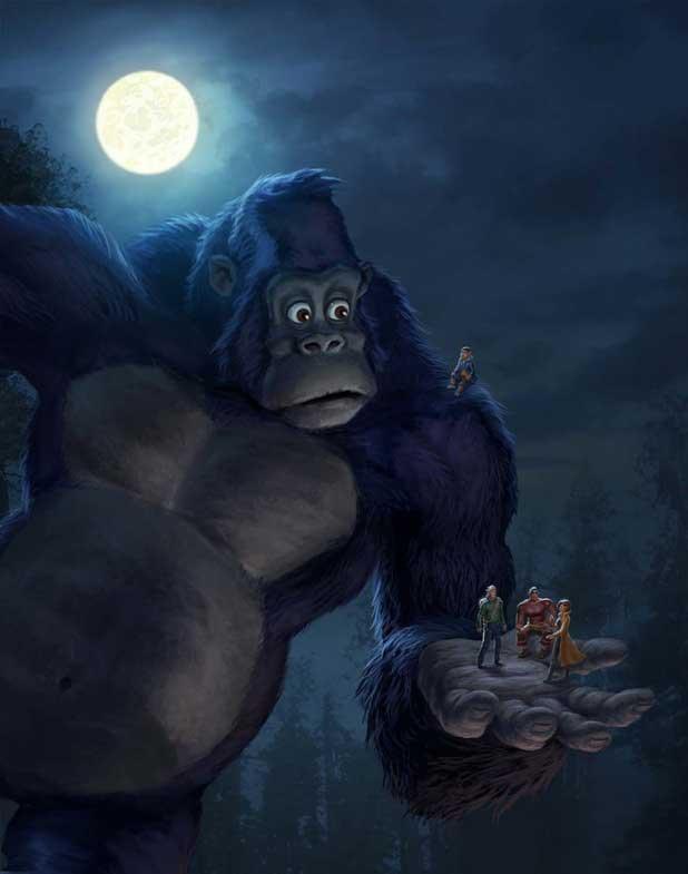 King Kong Kommer Till Netflix Moviezine
