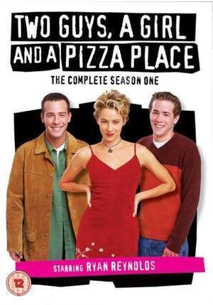 Tre vänner och en pizzeria poster