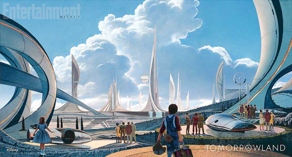 Tomorrowland movie images
