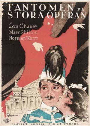 Fantomen på stora operan poster