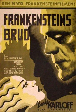 Frankensteins brud poster