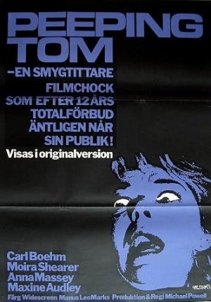 Peeping Tom - En smygtittare poster