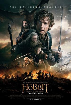 Hobbit: Femhäraslaget poster