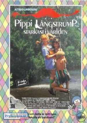 Pippi Långstrump - Starkast i världen poster