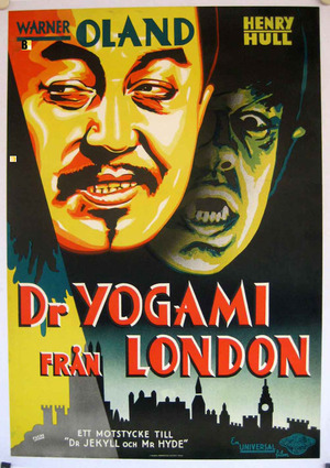 Dr Yogami från London poster