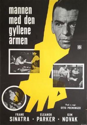 Mannen med den gyllene armen poster