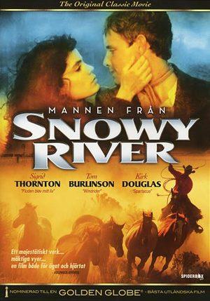 Mannen från Snowy River poster