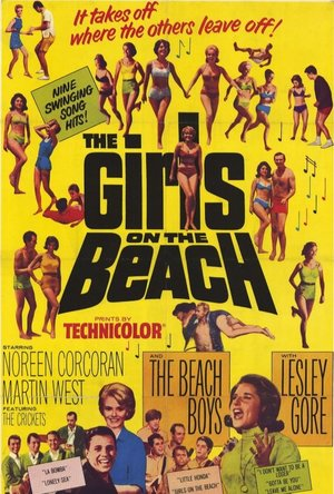 The Beach Boys and the Girls poster