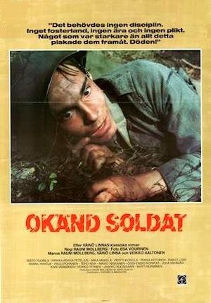 Okänd soldat poster