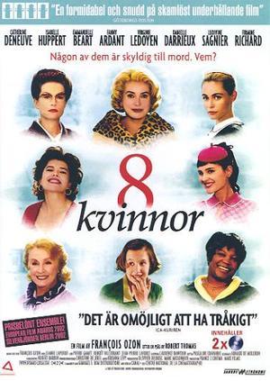 8 kvinnor poster