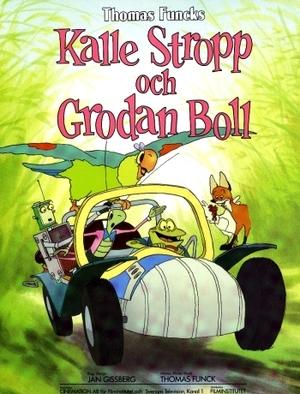Kalle Stropp och Grodan Boll poster