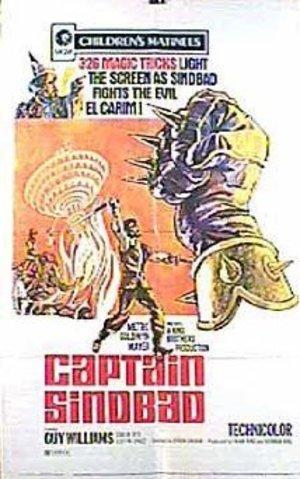 Kapten Sinbads äventyr poster