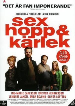 Sex, hopp & kärlek poster