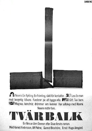 Tvärbalk poster
