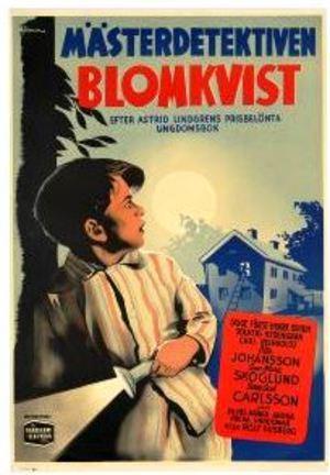 Mästerdetektiven Blomkvist poster