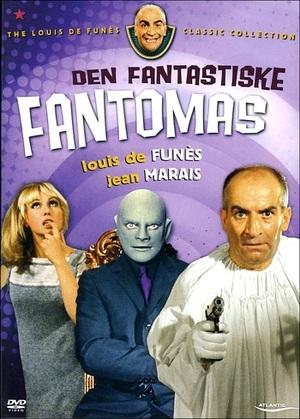 Den fantastiske Fantomas poster