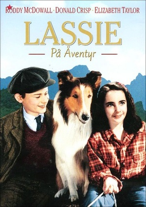Lassie på äventyr poster