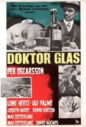 Doktor Glas poster