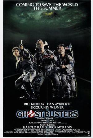 Ghostbusters - Spökligan poster
