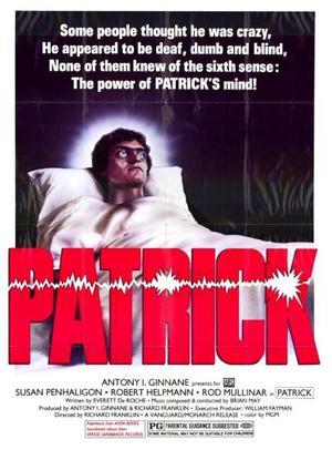 Patrick - dödens ängel poster