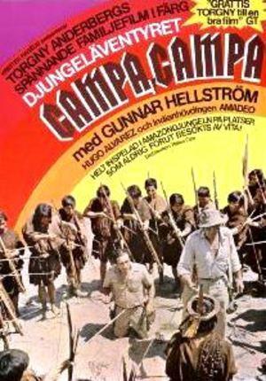 Djungeläventyret Campa, Campa poster