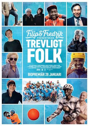Filip & Fredrik presenterar Trevligt folk poster