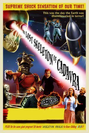 The Lost Skeleton Of Cadavra poster