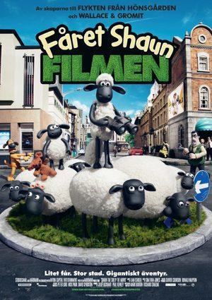 Fåret Shaun - Filmen poster