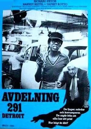 Avdelning 291 - Detroit poster