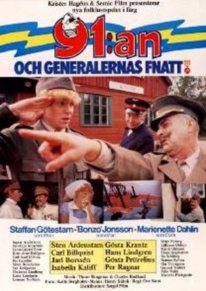 91:an och generalernas fnatt poster