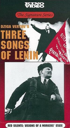 Tre sånger om Lenin poster