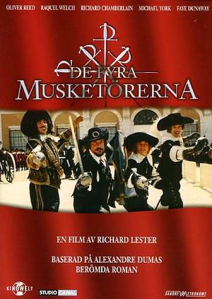 De fyra musketörerna poster