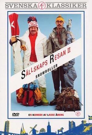 Sällskapsresan 2 - Snowroller poster