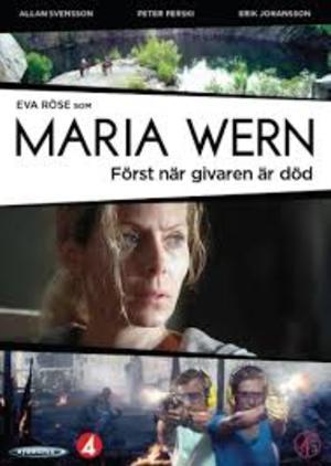 Maria Wern - Först när givaren är död poster