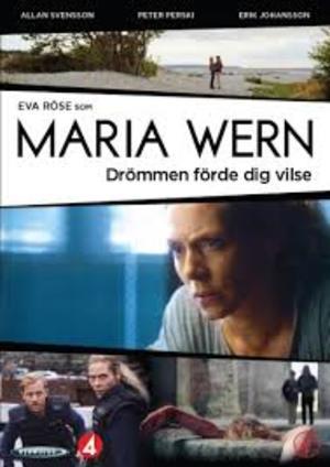 Maria Wern - Drömmen förde dig vilse poster