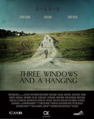 Three Windows and a Hanging poster
