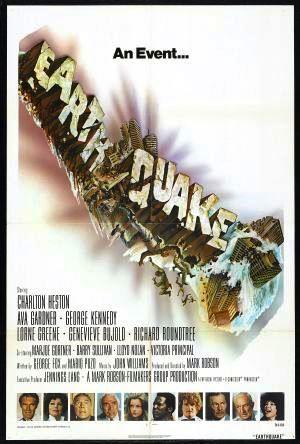 Jordbävningen poster