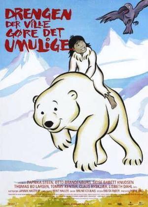 Pojken som ville vara isbjörn poster