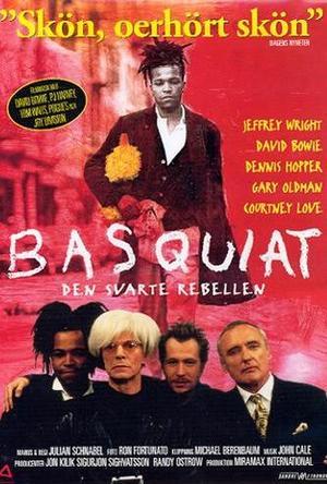 Basquiat - Den svarte rebellen poster