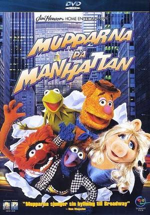 Mupparna på Manhattan poster