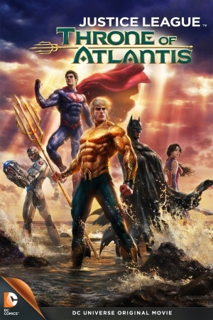 Justice League: Throne of Atlantis poster
