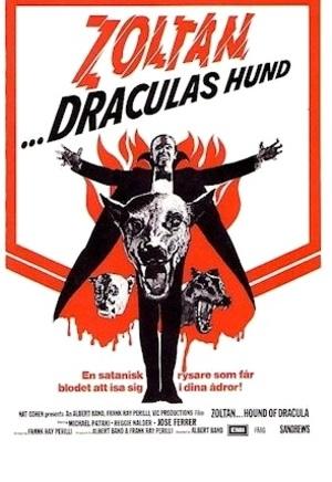 Zoltan ... Draculas hund poster