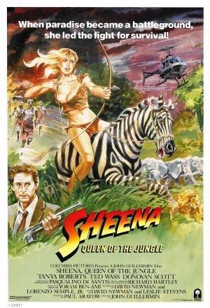 Sheena - Djungelns drottning poster