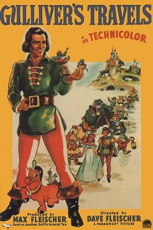 Gulliver hos Lilleputtarna poster