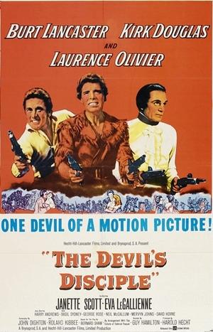 Djävulens lärjunge poster