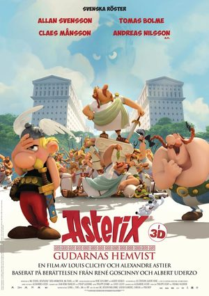 Asterix - Gudarnas hemvist poster