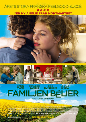 FamiljenBélier poster