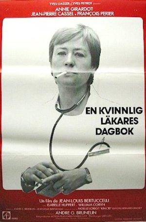 En kvinnlig läkares dagbok poster