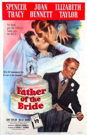 Brudens fader poster